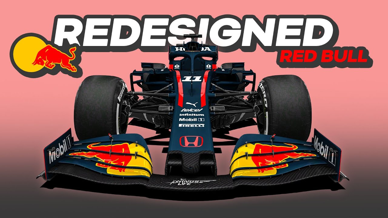 My REDESIGN of the 2021 Red Bull Formula 1 Car