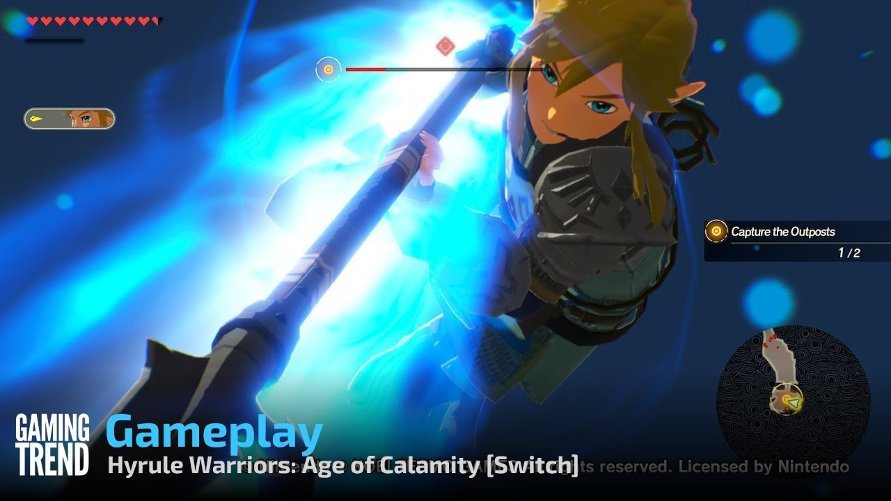 Bombastic Symphony Hyrule Warriors Age Of Calamity Review Gaming Trend