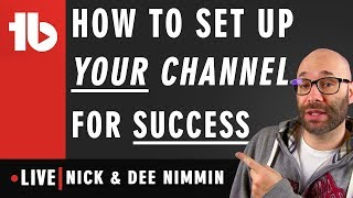 Setting up your channel for success w/ brands Hosted by Nick Nimmin