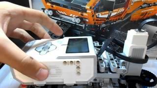 Лего техник + Ev3 обучение машиностроению урок 4 (коробка передачь)
