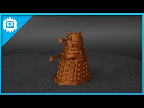 Dr. Who Dalek #3DPrinting #adafruit