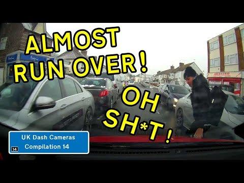 UK Dash Cameras - Compilation 14 - 2018 Bad Drivers, Crashes + Close Calls