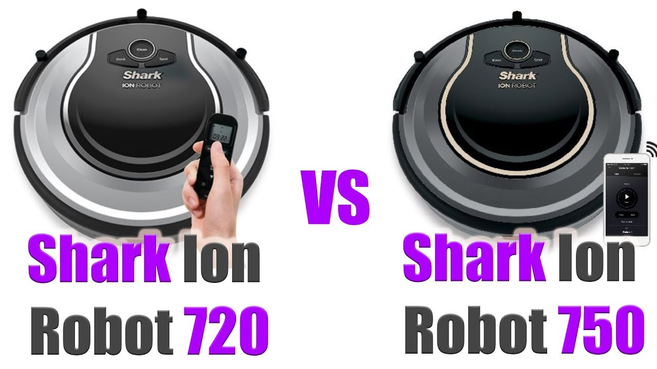 Shark Ion Robot 720 Vs 750 Whats The Difference Rv720