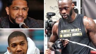 BREAKING NEWS: ANTHONY JOSHUA POWER US NOT COMPARABLE TO WILDER'S ! SAY'S BREAZEALE ! NOT CLOSE !