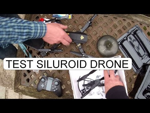 TEST VISUO SILUROID DRONE XS809HW WIFI FPV RC QUADCOPTER