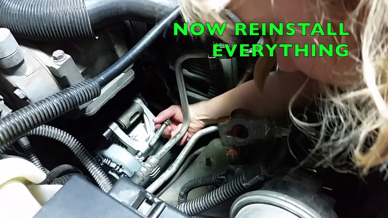 Change An Alternator   Jeep Cherokee 2000