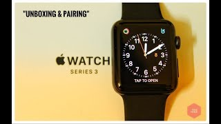 | Apple Watch Series 3 | Space grey | 42mm | Unboxing and Pairing |