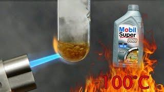 Mobil Super 3000 fe 5W30 dexos 2 Jak czysty jest olej silnikowy? Test powyżej 100°C