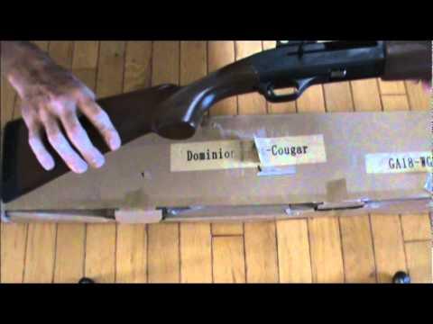 Dominion Arms Cougar Shotgun Unboxing