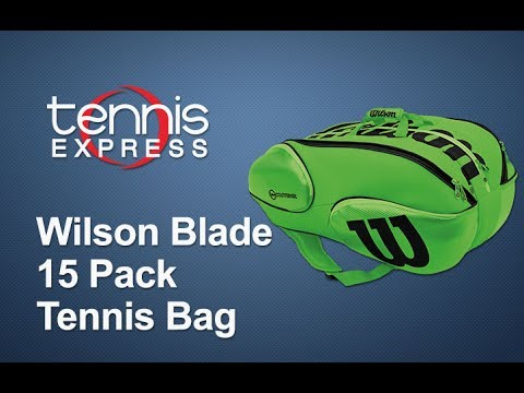 Wilson Limited Edition Reverse Blade 15 Pack Tennis Bag Review