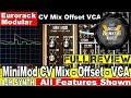 Download AJH Synth MiniMod CV Mix-Offset-VCA REVIEW. Eurorack Modular CV Mixer for Eurorack Modular Synth MP3 song and Music Video