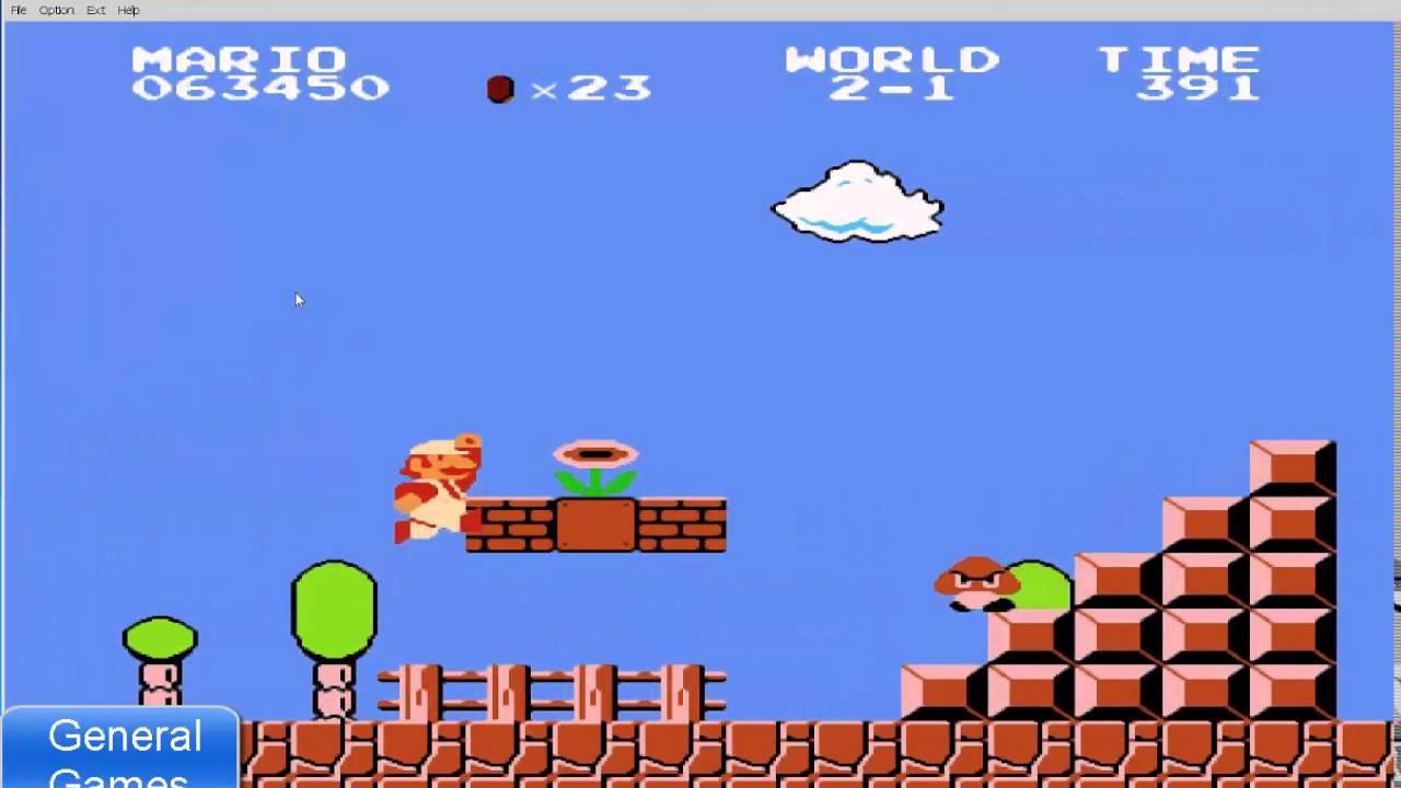 تحميل لعبة ماريو القديمة الاصلية الاتاري