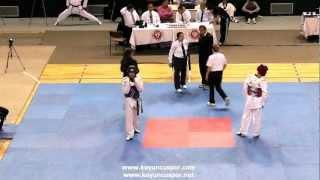 58kg Cebrail Esiyok - Burak Sesli (2012 Turkish Taekwondo Championships Under -21)