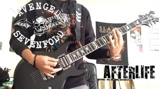Download Avenged Sevenfold - Afterlife (Zacky's part guitar cover) MP3 song and Music Video