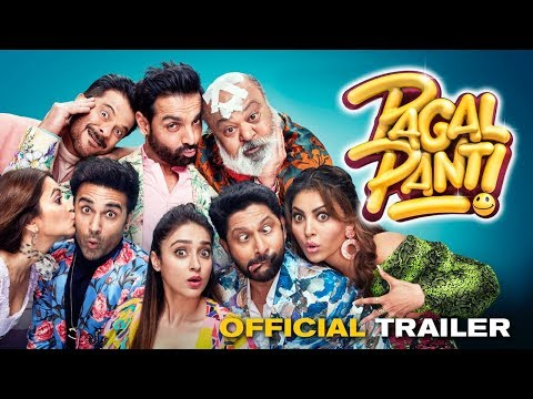 Pagalpanti Official Trailer