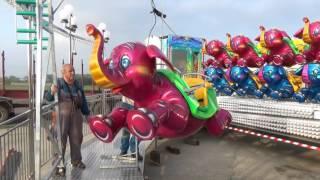 Flying Elephants by Luna-Park Rides- set up video