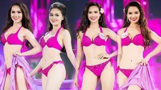 Nóng bỏng mắt với phần trình diễn BIKINI GỢI CẢM của Đỗ Mỹ Linh và TOP 30 người đẹp Hoa Hậu Việt Nam