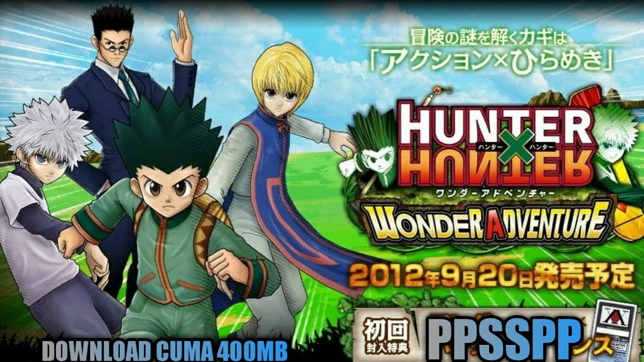 download game hunter x hunter psp android
