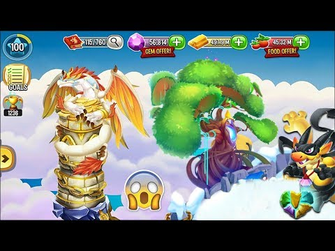 gold tree in dragon story