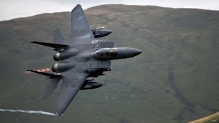 "🇺🇸 🇬🇧 The  Awesome ""CAD WEST"" Low Flying Jet Site In Wales ""Mach Loop""."