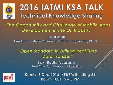 Mobile App for Oil Industry - IATMI TALK yusuf mufti