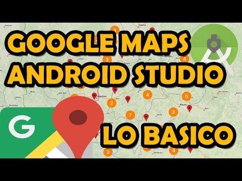 GOOGLE MAPS EN ANDROID STUDIO DESDE CERO TUTORIAL BASICO