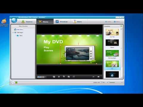 Wondershare Video to DVD Burner