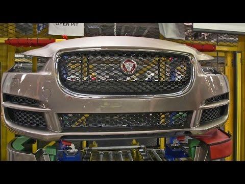 CAR FACTORY: 2017 Jaguar XE