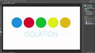 Photoshop Tutorial: CC Isolation Mode for Layers -HD-
