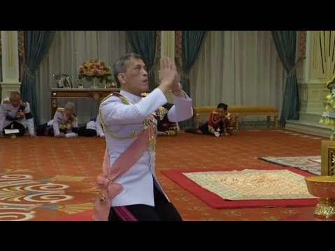 Thai Crown Prince Formally Proclaimed King