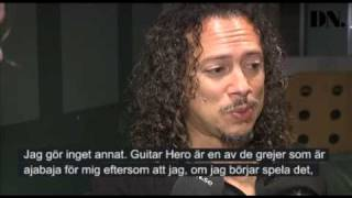 Metallicas gitarrist om Guitar hero