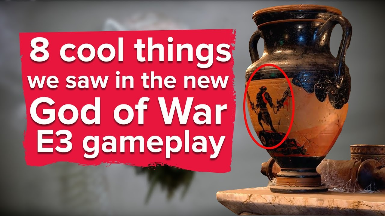 8 Cool Things We Saw in New God of War E3 Gameplay