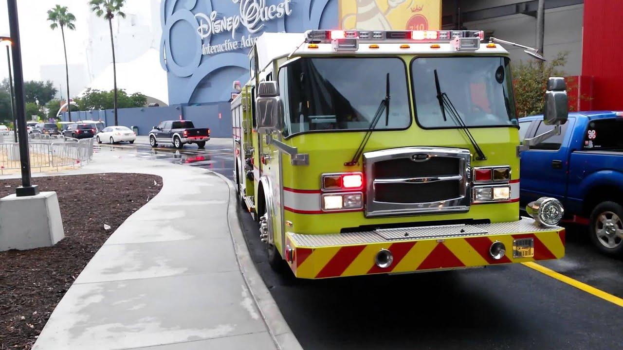 reedy creek fire department engine 11