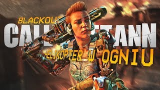 HELIKOPTER W OGNIU - Call of Duty Blackout (PL) #18 (BO4 Blackout Gameplay PL)