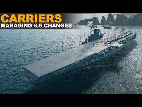 Carriers Managing 8.5 Changes - World of Warships