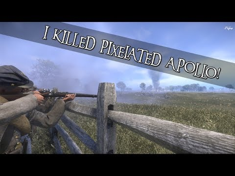 War of Rights - Confederate States - I KILLED PIXELATED APOLLO!