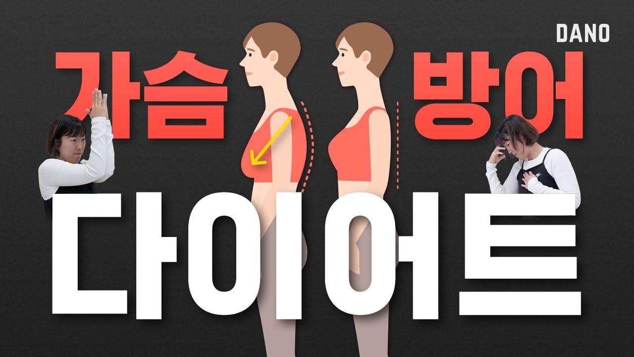 가슴이 처진 것 같아 고민이라면? 가슴을 지키는 다이어트 방법 3가지 🙋♀  @DanoTV  | 다노티비