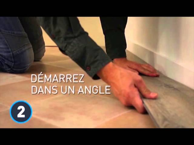 Lame Pvc Clipsable Gerflor Senso Lock Plus 55 Presentation Et Pose Du Produit Youtube