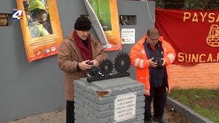 Trabajadores de la construcción rindieron homenaje a obreros fallecidos en accidente de Azucitrus