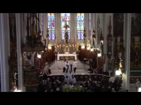 Full HD video: Opening Solemn High Mass of St. Joseph Oratory, Detroit (October 16, 2016)