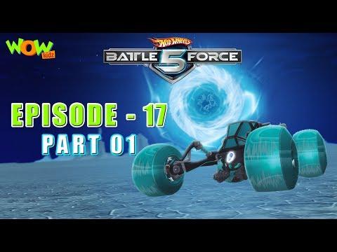 Motu Patlu presents Hot Wheels Battle Force 5 - Cold As Ice - Episode 17-P1- in Hindi