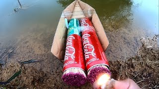 Cool Matches Powered Cardboard Double Jet part 2
