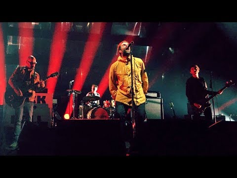 Liam Gallagher with Bonehead - Supersonic [Live at HMH, Amsterdam - 08-03-2018]