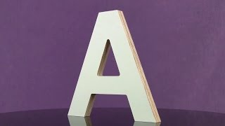 MDO Outdoor Plywood Letters