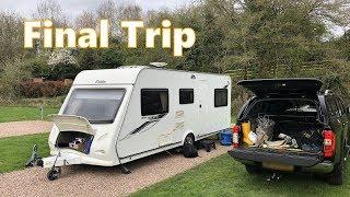 Last Caravan Trip in our Elddis Xplore | Lickhill Manor Caravan Park