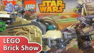 LEGO Star Wars 75084, Лего Звездные Войны: Боевой корабль Вуки (Wookiee Gunship)