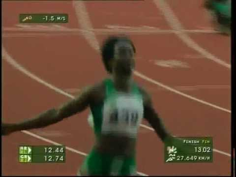 100 Meters Women's Final [All Africa Games 2003]