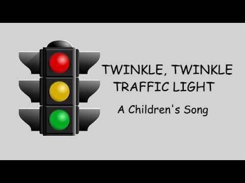 ♫ Twinkle Twinkle Traffic Light ♫ A Children's Song