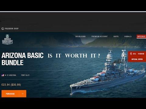 World of Warships Arizona is it worth it?