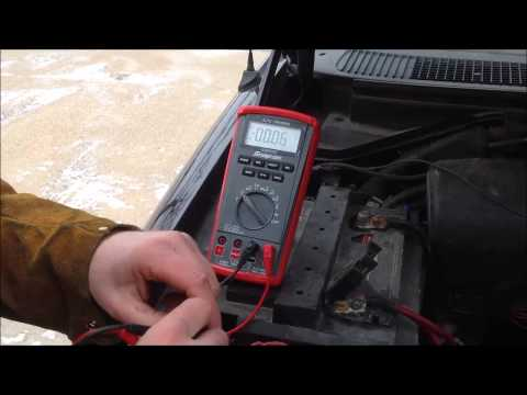 How to perform a Volt Drop Test on Corroded battery cables